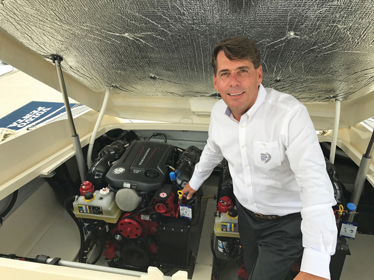 Volvo Penta's Easy Drain won for inboards.