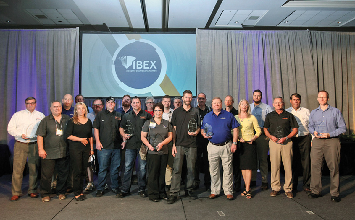 There were 85 new products in the 2016 Innovation Awards at IBEX. Mercury Marine was the only company to win in two product categories.