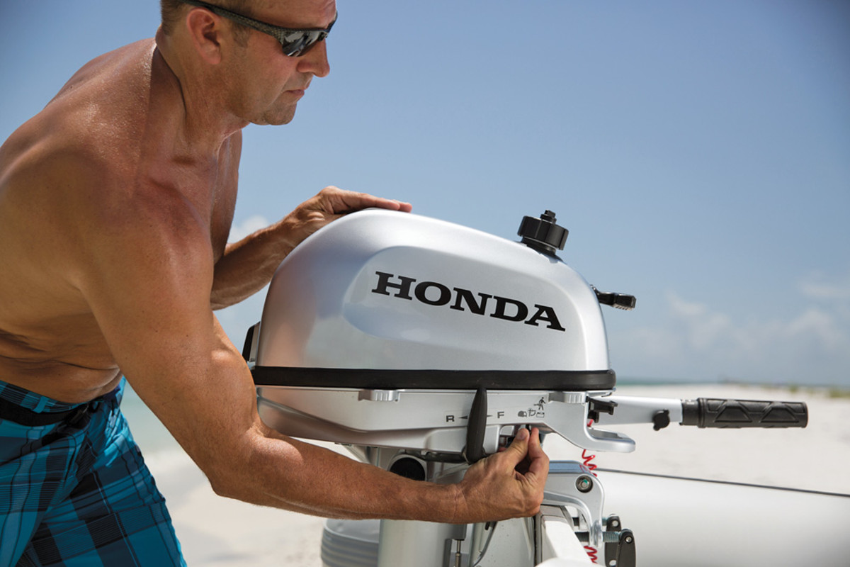 The Honda BF6 won for outboards.