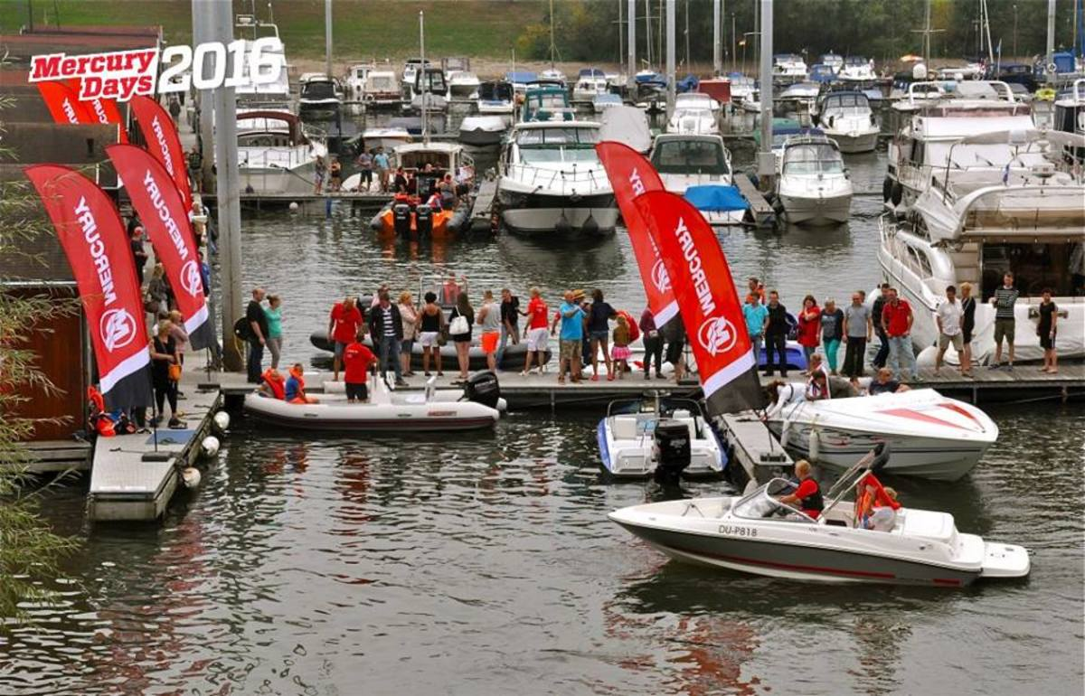 Mercury Marine said 3,000 people turned out earlier this month for its fifth annual Mercury Days event in the Netherlands.