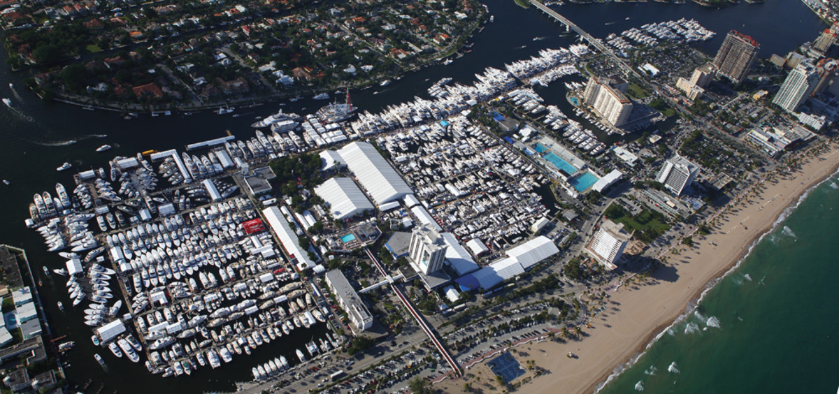 FLIBS covers seven locations across more than 3 million square feet of exhibit space. The show draws about 1,000 exhibitors from 30-plus countries.
