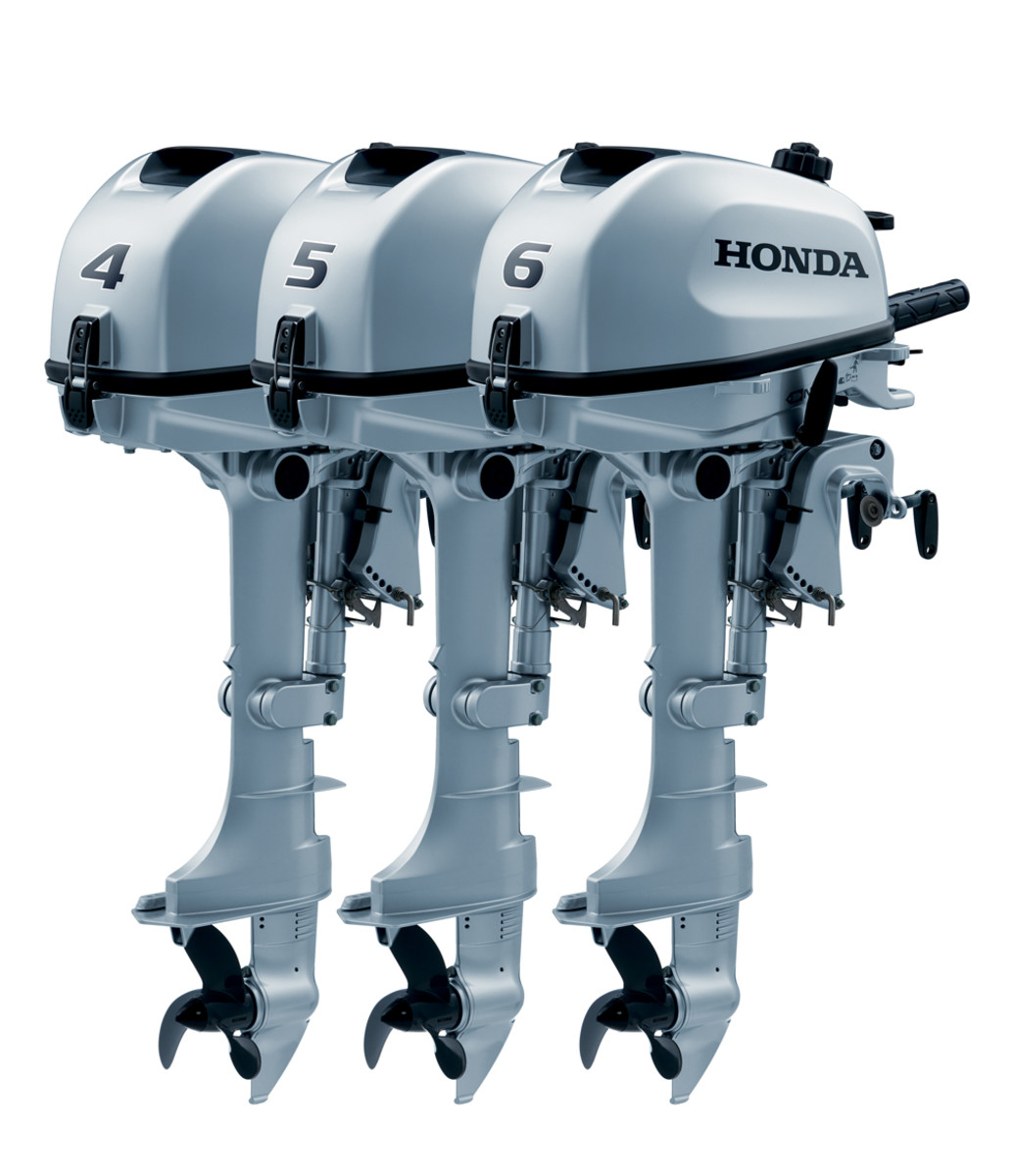 Honda Marine said all three new engines are available with either a short or long shaft.