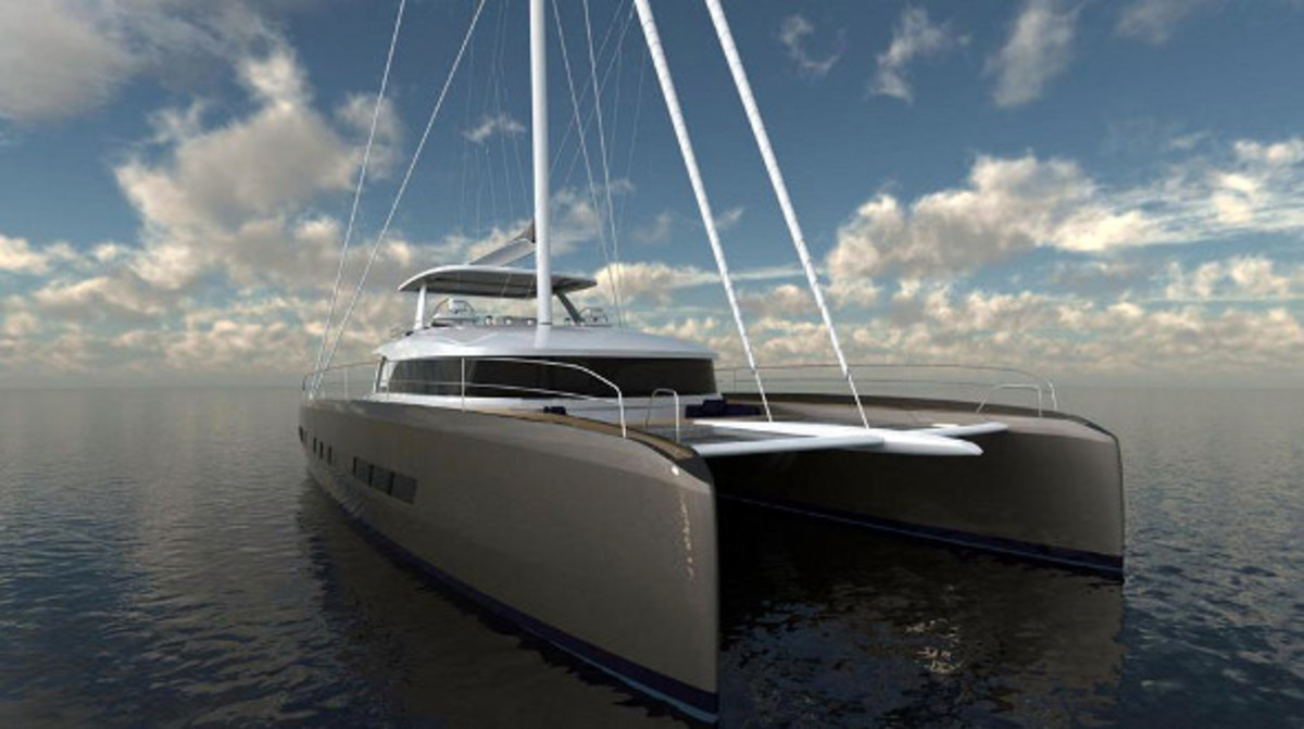 The Lagoon Seventy7 will make its world debut in February at Strictly Sail Miami at Miamarina at Bayside.