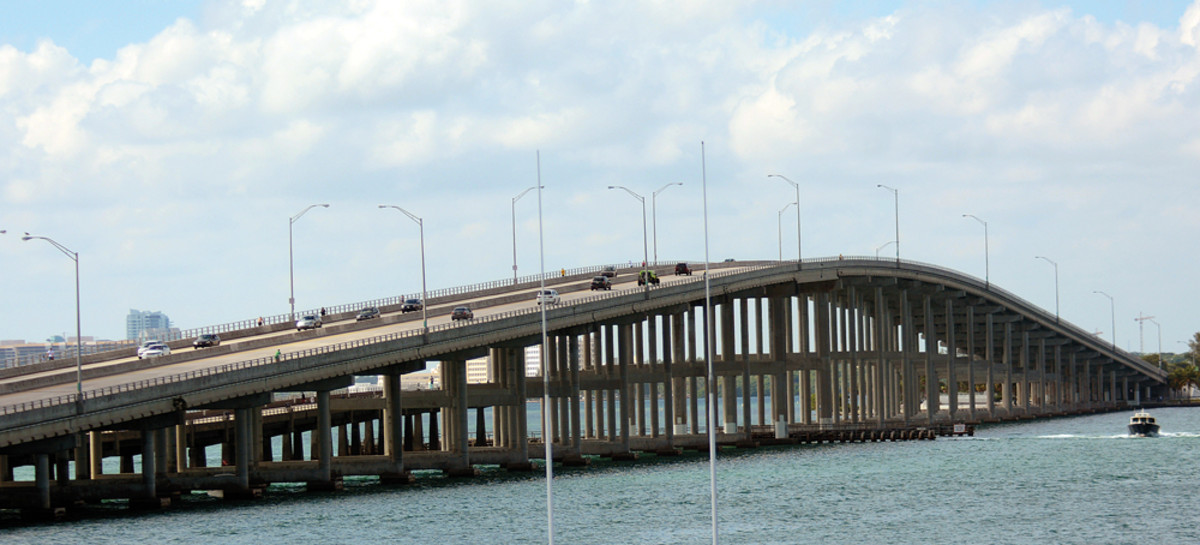 Opponents of the new site say they fear traffic jams on the Rickenbacker Causeway, which connects Key Biscayne and Virginia Key with Miami.