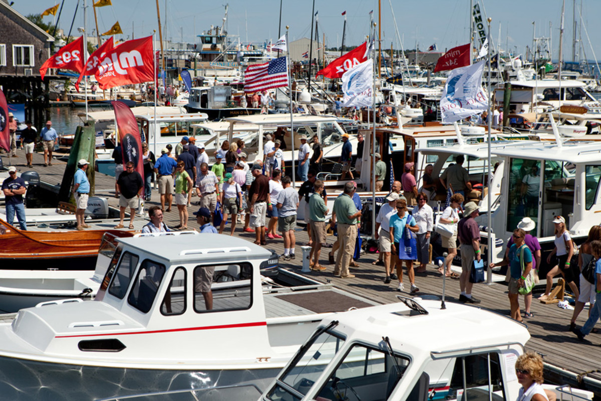 Organizers said the Maine Boats, Homes & Harbors Show had 50 new exhibitors this year.