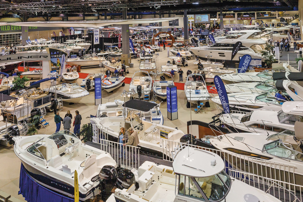 The Seattle Boat Show is the West Coast's largest, featuring more than 1,000 models.