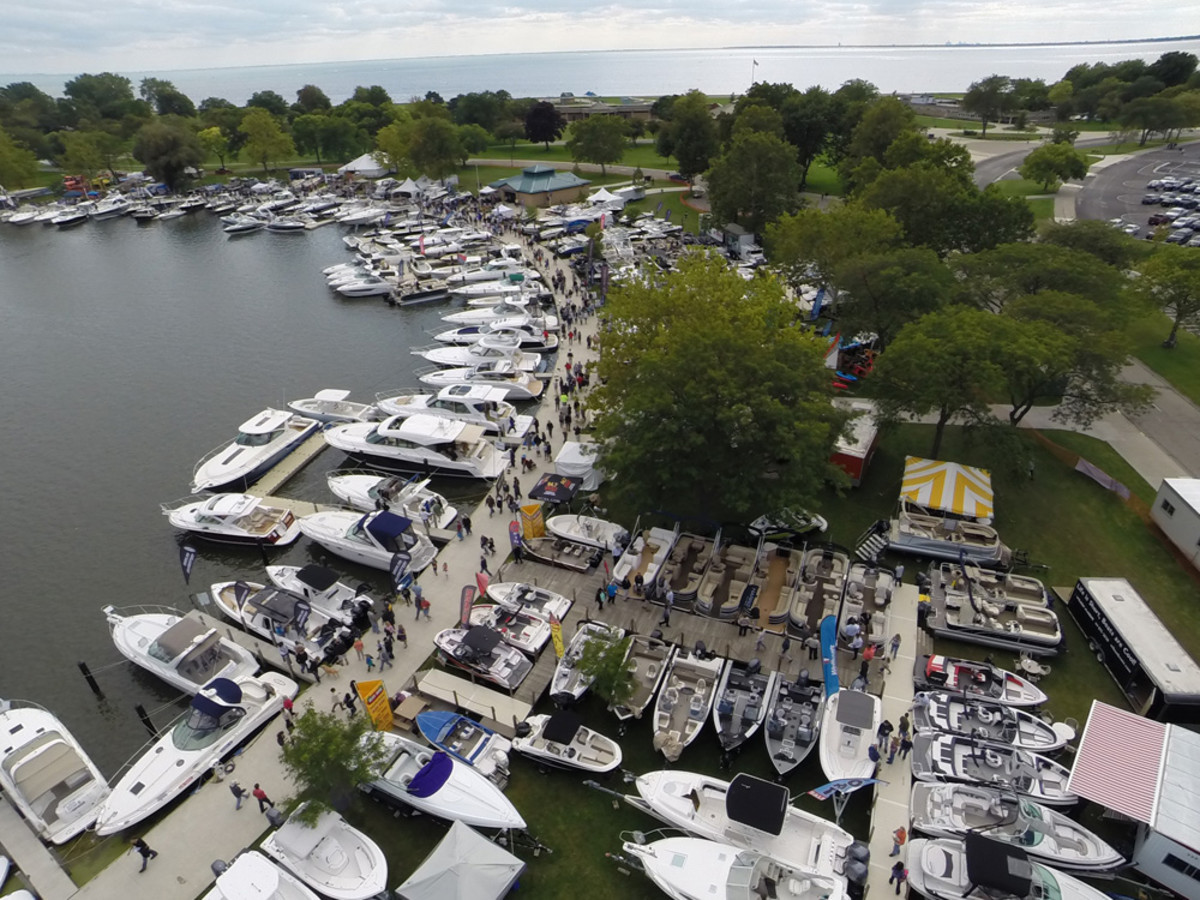 The newly named Metro Boat Show at Lake St. Clair Metropark has expanded this year.