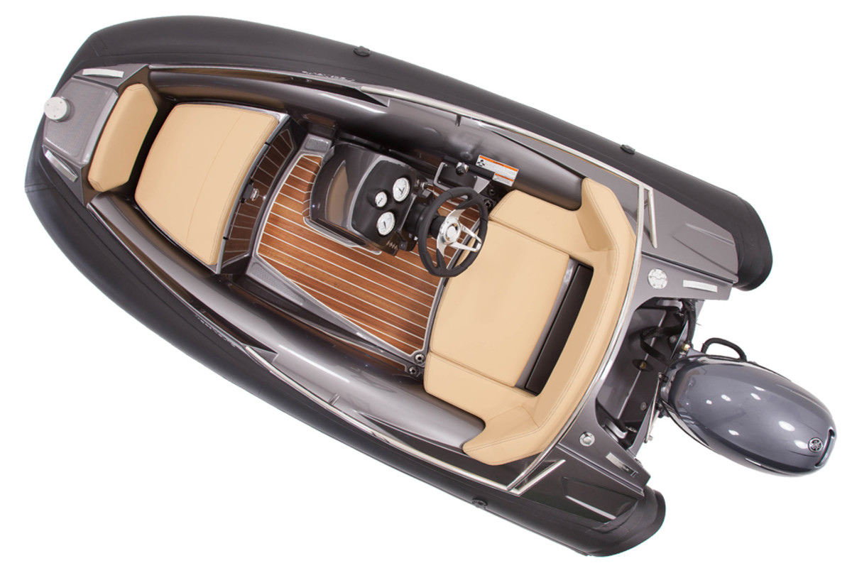 The new Nautic 305 from Argos Yachts is a 10-foot tender that seeks to maximize the space on board.