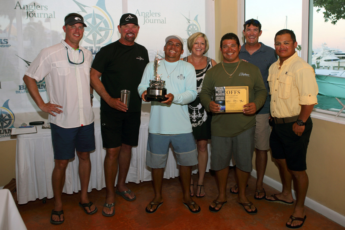 The crew of Uno Mas has won two tournaments in a row and is the overall leader in the Bahamas Billfish Championship.