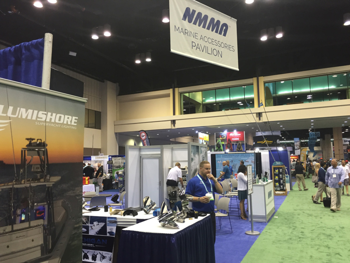 This is first year of the Marine Accessories Pavilion, a partnership between the American Sportfishing Association, which produces ICAST, and the National Marine Manufacturers Association.