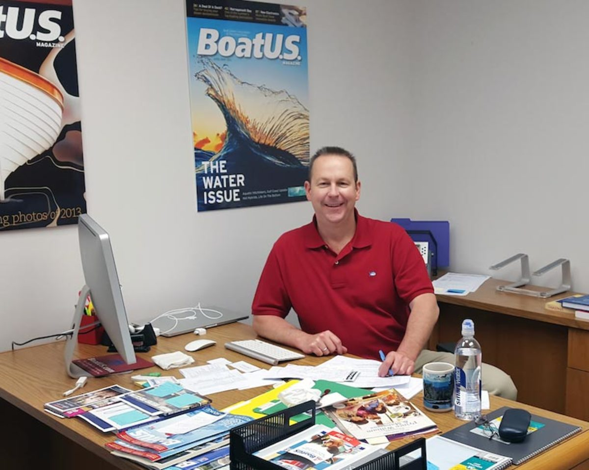 BoatUS magazine managing editor Rich Armstrong.