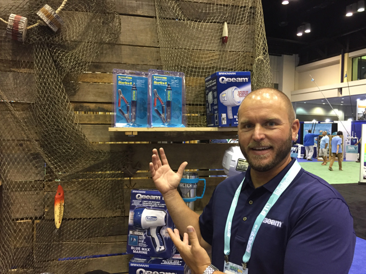 """We've put in some purchase orders with distributors and some mom-and-pop fishing and tackle businesses. Fishermen need lights."" — Christopher Baumunk, national sales manager, Viatek Consumer Products Group"