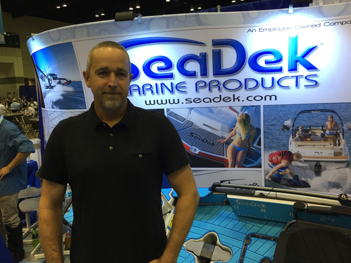 """This is a great venue for us to show what we are capable of doing with kayaks."" — Jason K. Gardner, vice president of marketing and advertising for SeaDek Marine Products"
