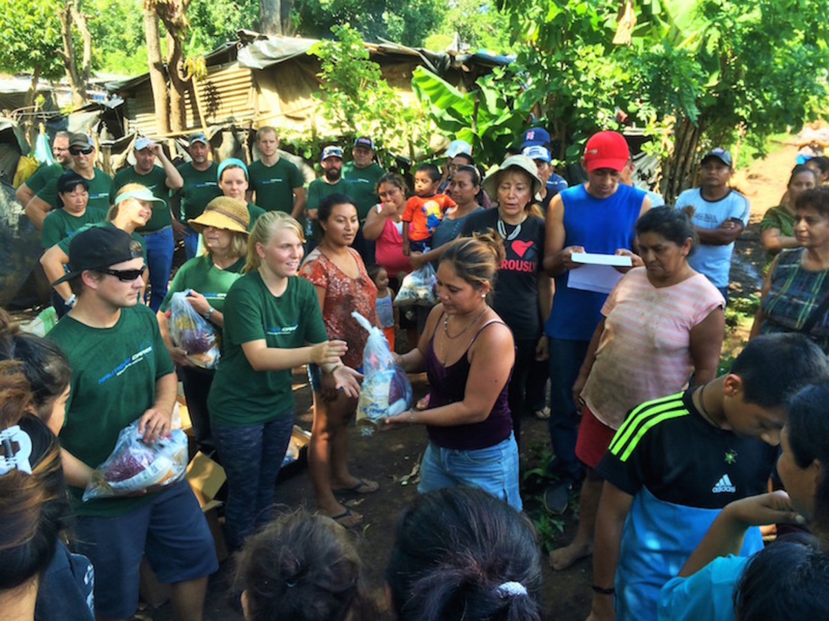 Nautique employees helped residents of Ahuachapán, El Salvador, this week as part of the company's Nautique Cares initiatives.
