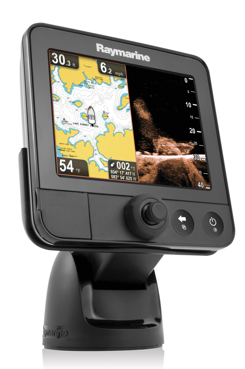 With its lower-cost DragonFly fishfinders (starting at $199), Raymarine is making waves in the freshwater market.