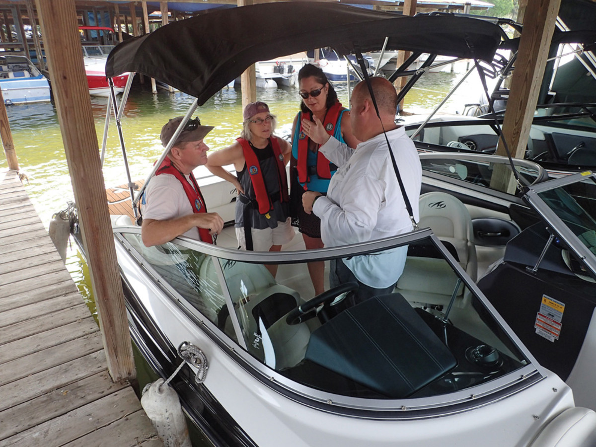 Mount Dora Boating Center and Marina in the greater Orlando, Fla., area has had success with special sales events.