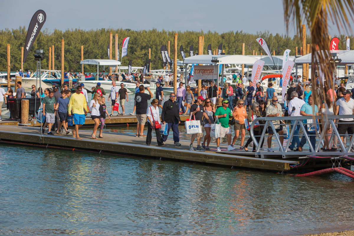 Attendance at boat shows has been picking up and dealers are happy with their results.