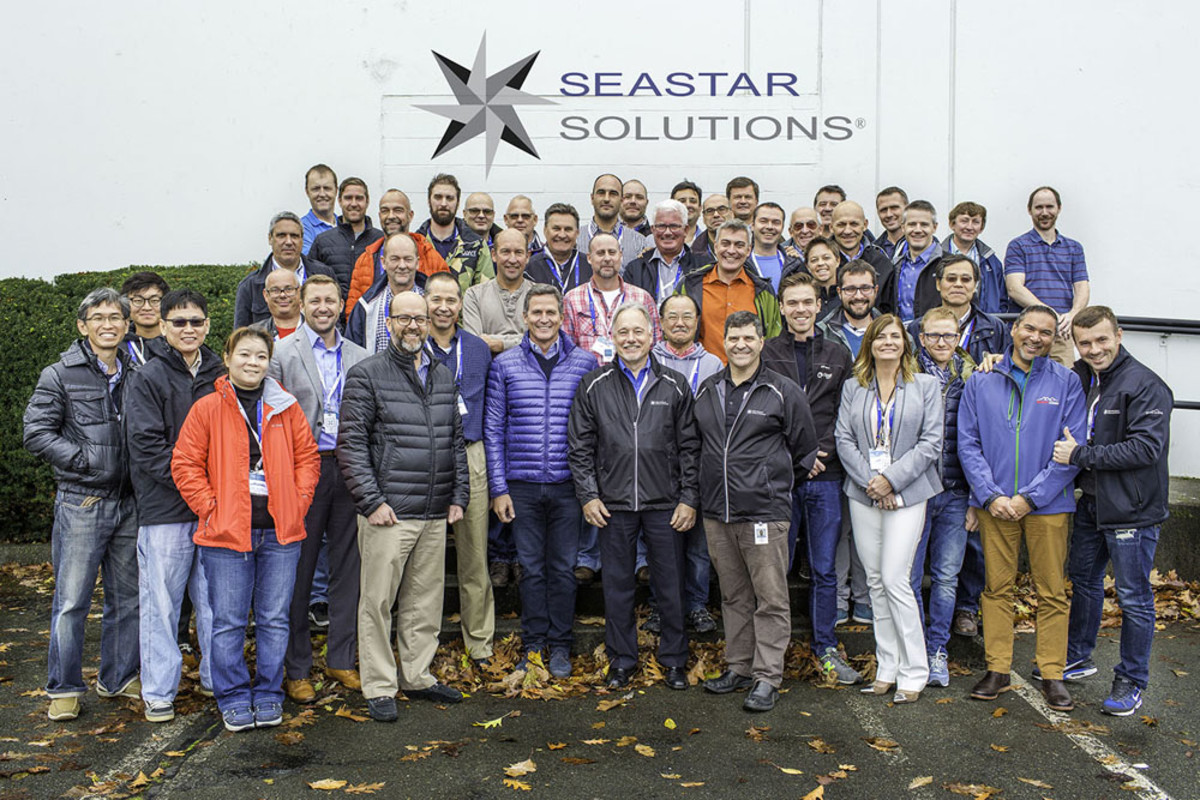 Principals and associates from SeaStar Solutions distributors in 20 countries were in British Columbia for the sales meeting.