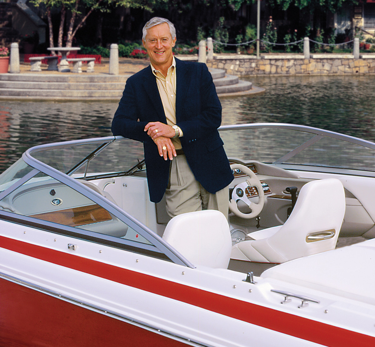 Pack St. Clair launched Cobalt Boats in 1968 in an unlikely locale: landlocked rural Kansas.