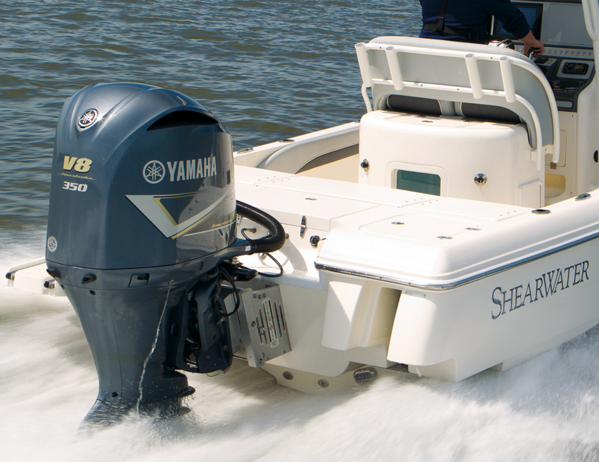 When the Yamaha F350 hit the water in 2007, it prompted boat companies to start building larger center consoles.
