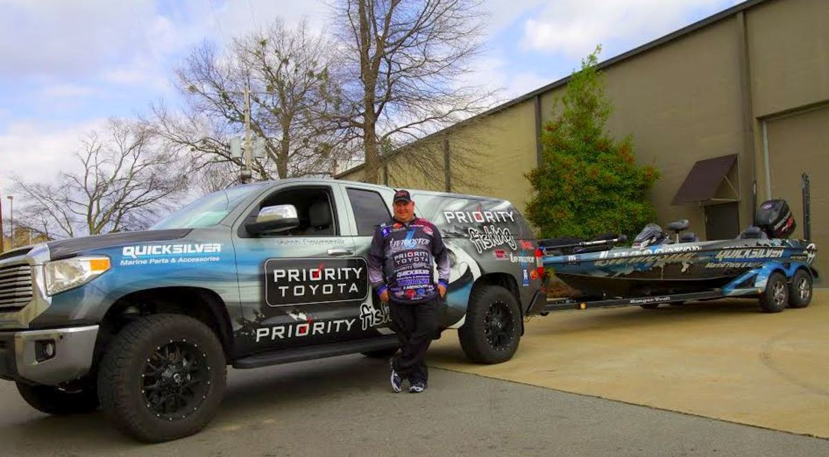Pro angler Jacob Powroznik will continue to use Quicksilver products exclusively in his Mercury/Ranger during the 2017 season.