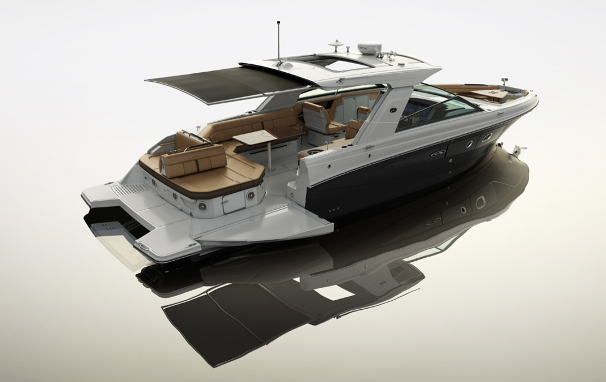 Sea Ray said its new SLX 400 will be on display at the Jan. 25-29 New York Boat Show.