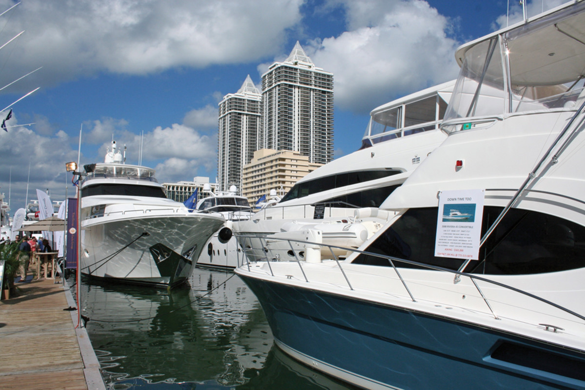 New-boat introductions are always crucial to the show's success. For the first time, organizers will charge an admission fee.
