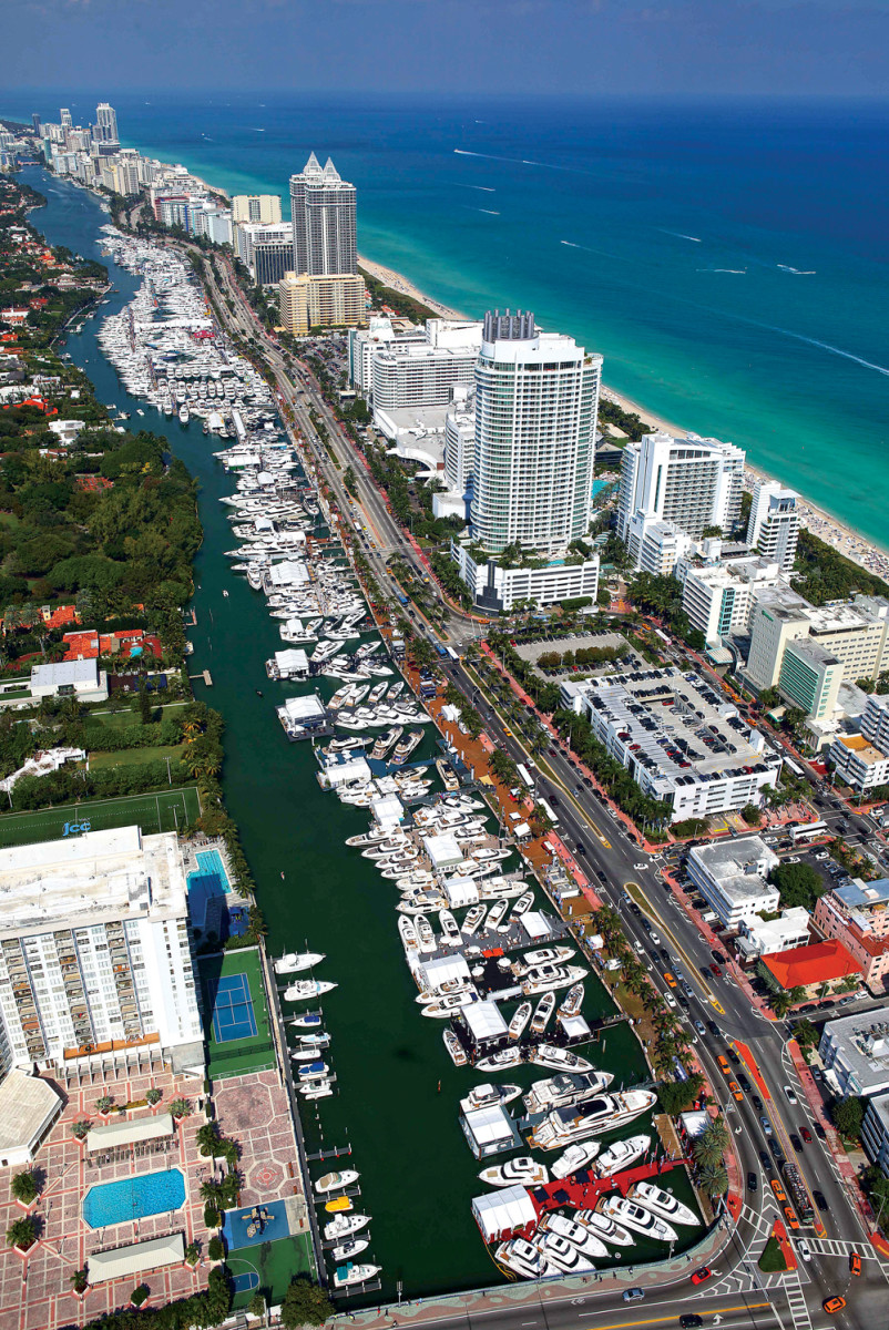 Transportation upgrades will make it much easier to navigate the Yachts Miami Beach show this year.