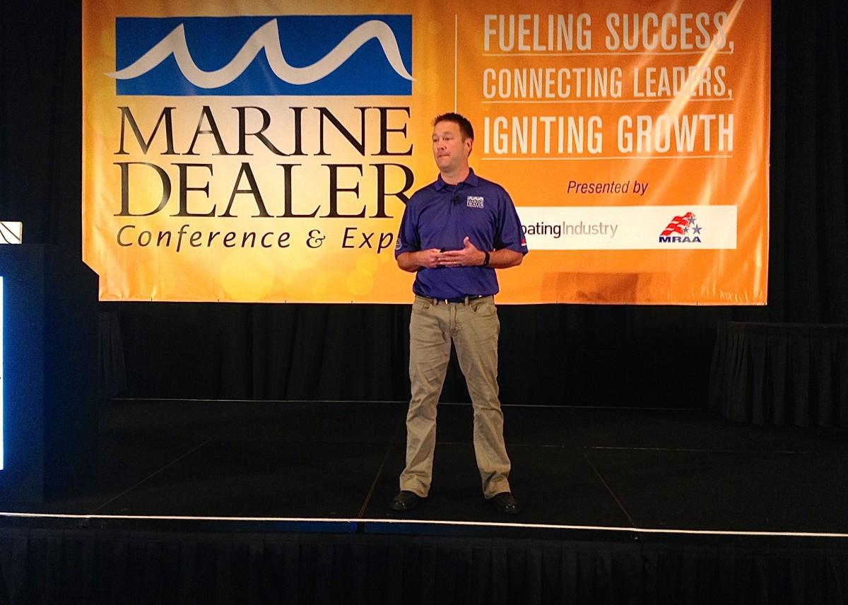MRAA president Matt Gruhn.