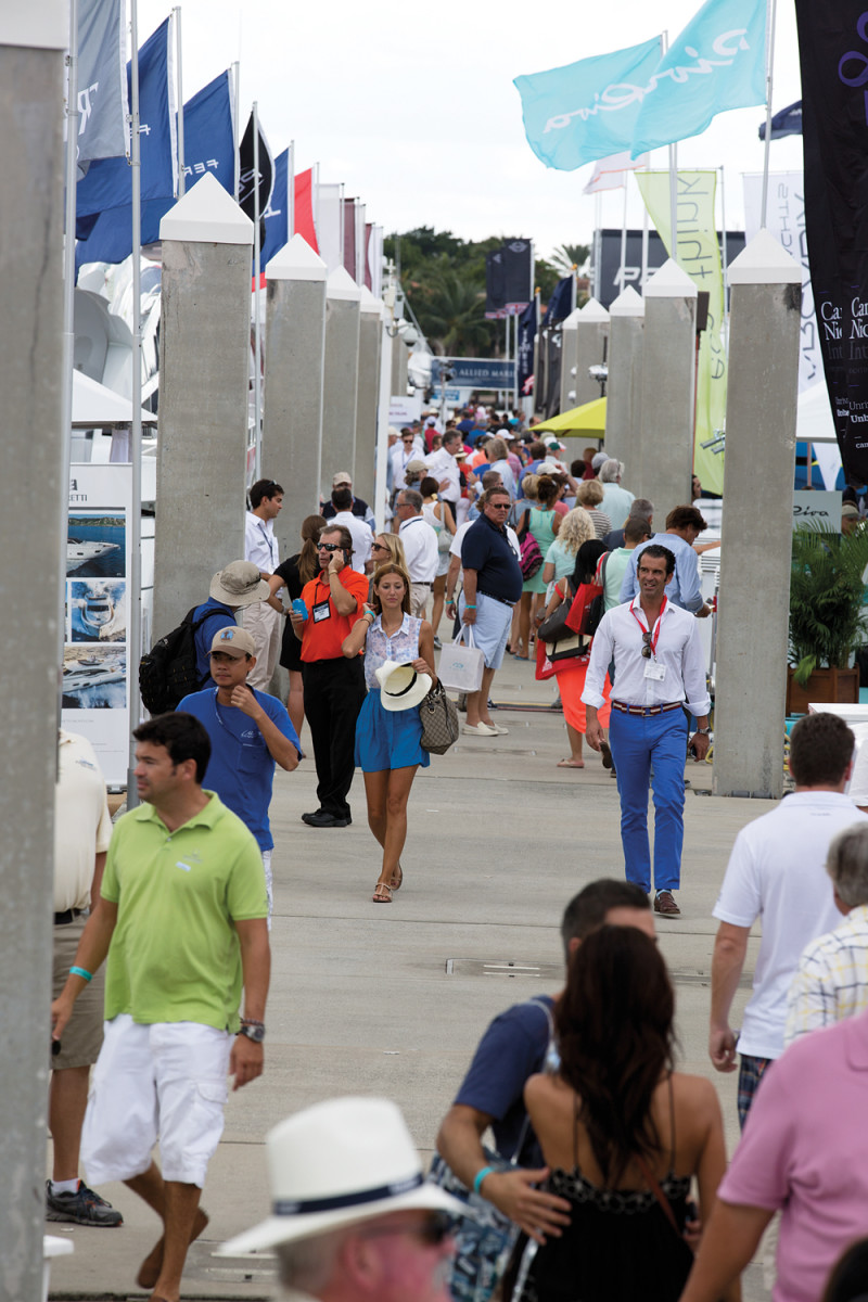 The weather was at its South Florida best and traffic at each of the seven venues was brisk.