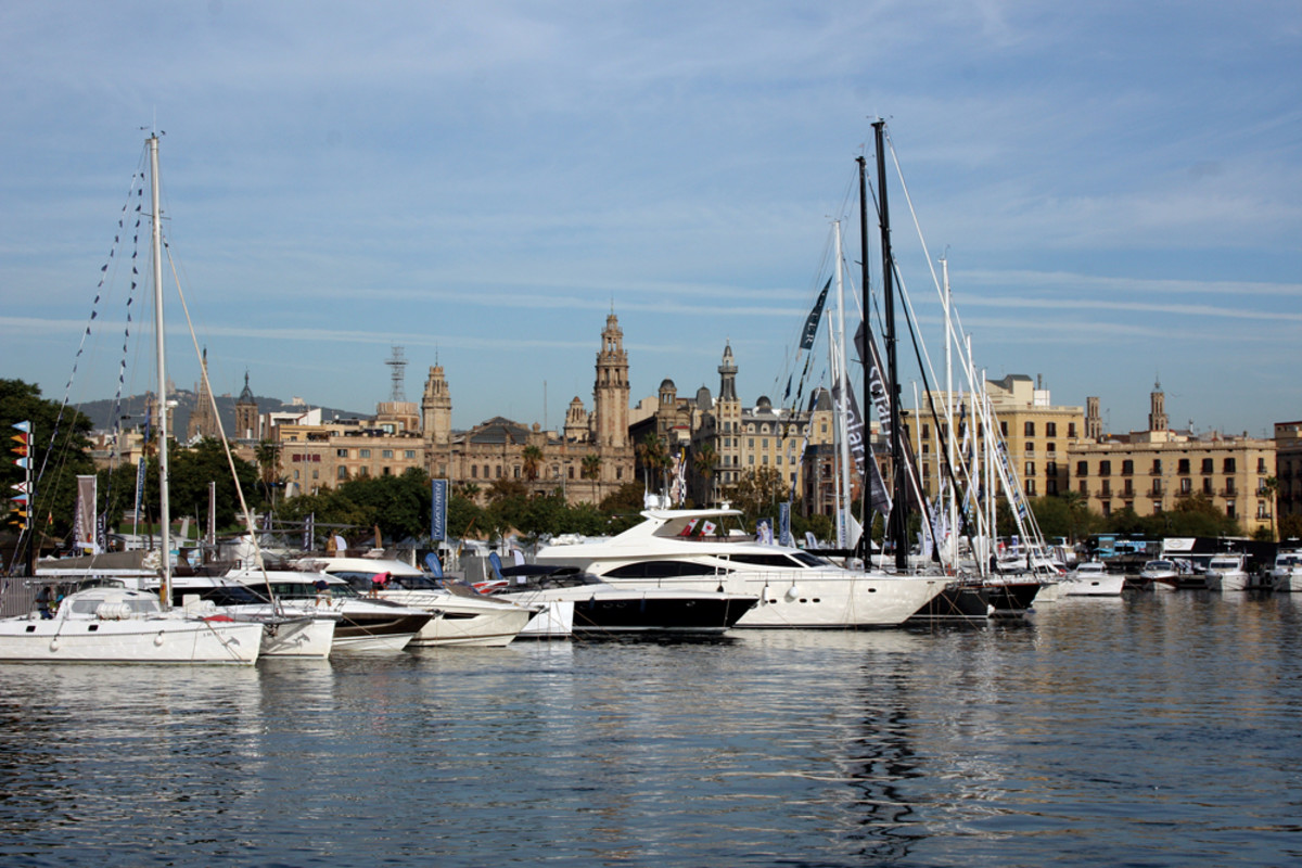 This year's Barcelona International Boat Show was the largest in the event's 53-year history.