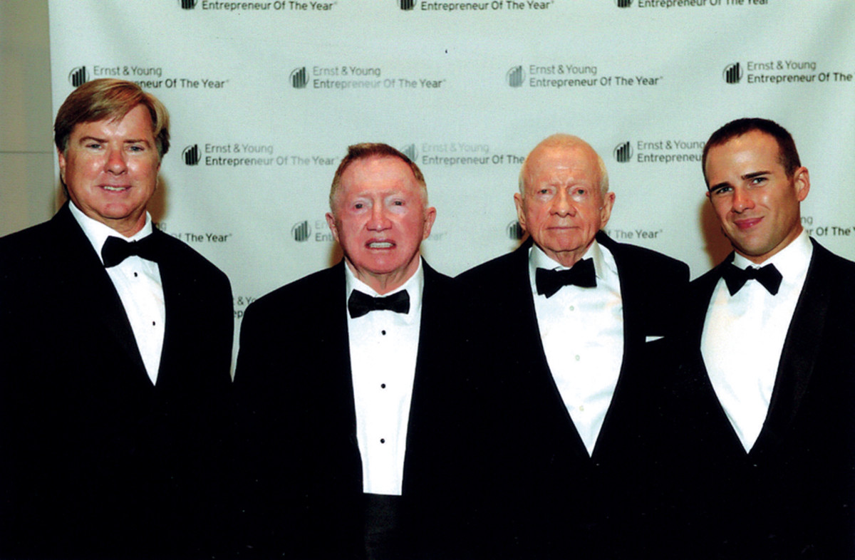 The Healeys — (from left) Pat, Bill, Bob Sr. and Bob Jr. — were Ernst & Young Entrepreneur of the Year winners in 2013.