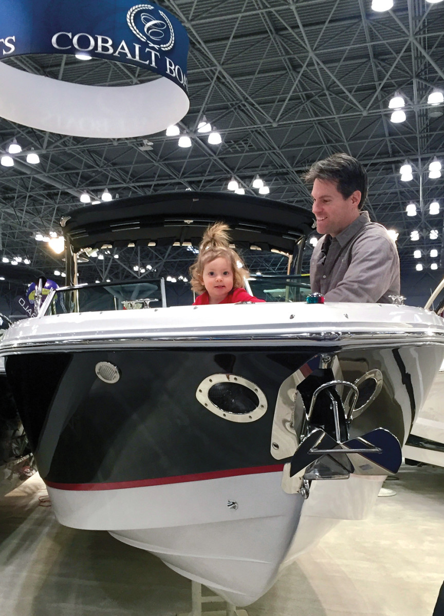 One young family checks out a new MasterCraft towboat, while another imagines a future with one of Cobalt's latest offerings.