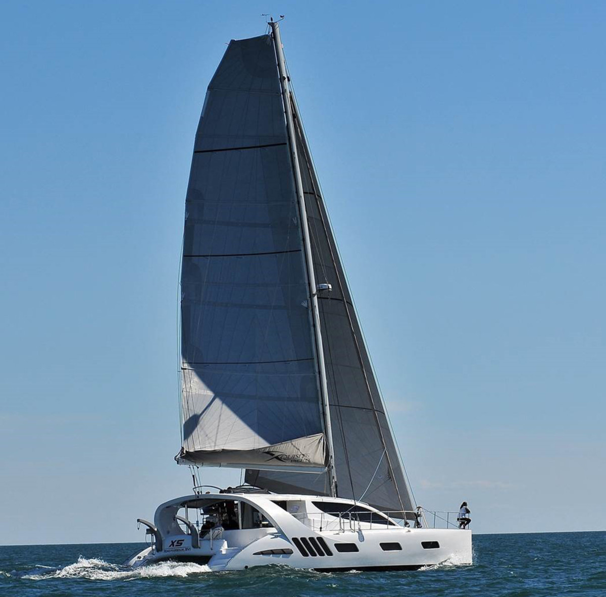 The new X5 Sail is a luxury cruising catamaran from Xquisite Yachts.