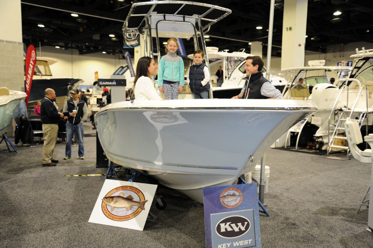 There were more than 140 exhibitors at the three-day show at the Rhode Island Convention Center.