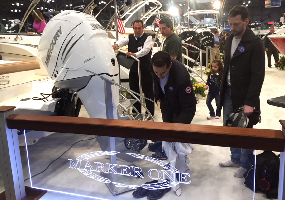The New York Boat Show saw attendance grow 21 percent from 2016.