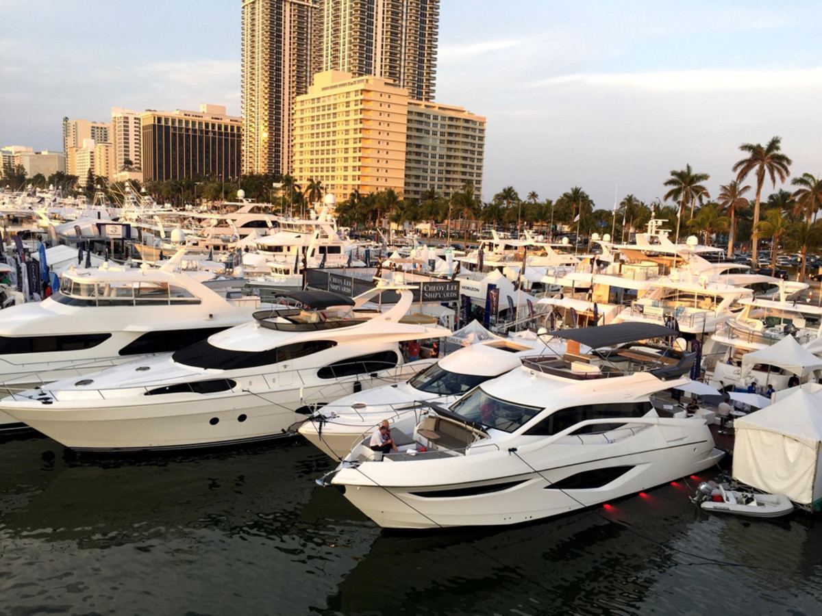 Exhibitors Said They Were Pleased With The New Look And Layout Of Yachts Miami Beach