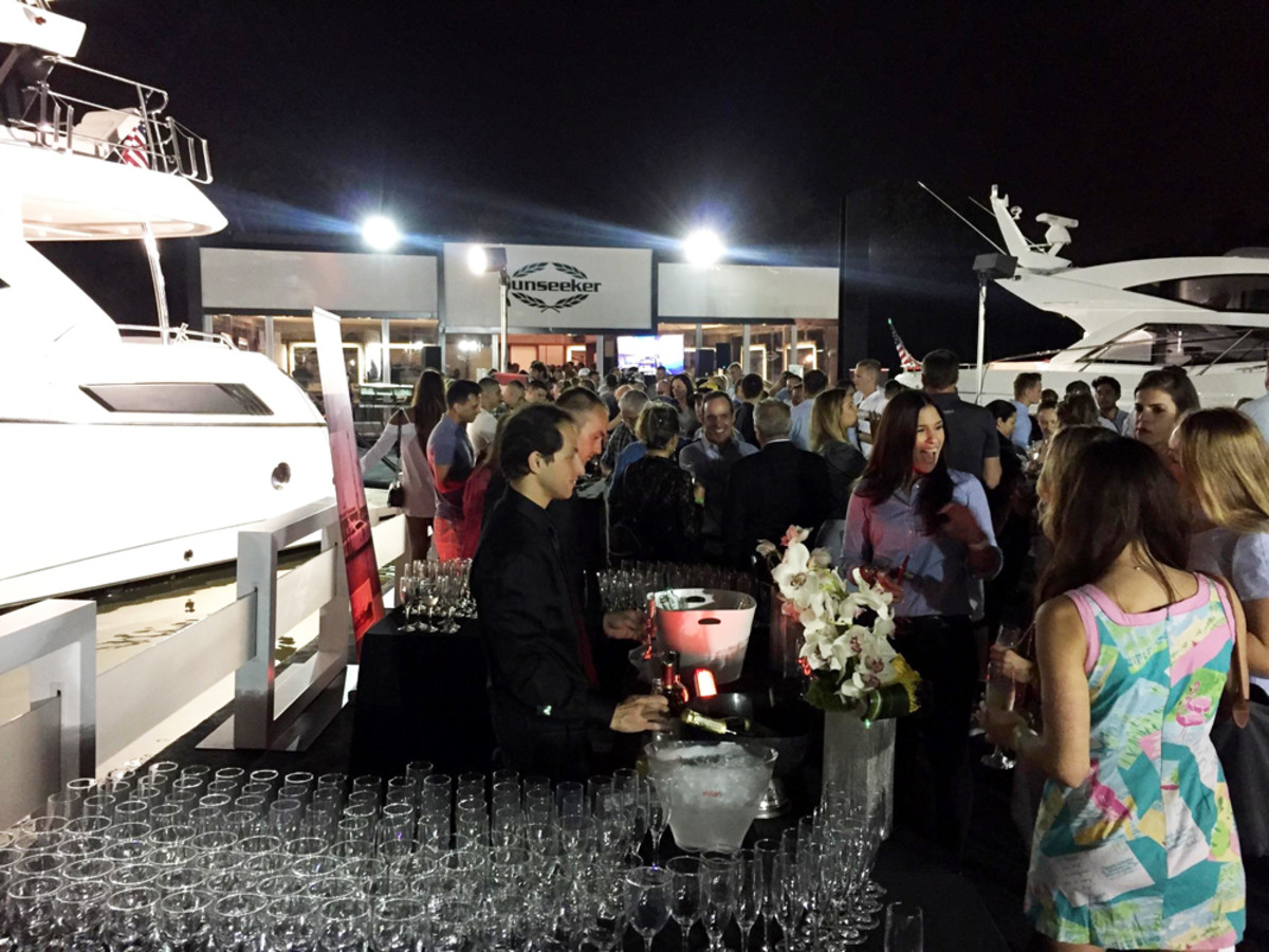 Sunseeker, which held a VIP event for clients on Friday at Yachts Miami Beach, said North America has been a critical market for sales.