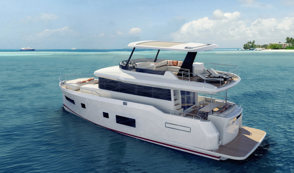 The Sirena 56 will have its world debut in February at Yachts Miami Beach.