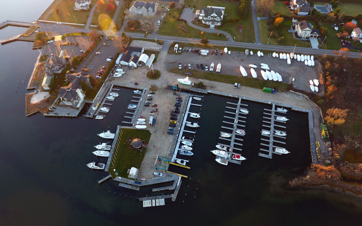 Hampton Watercraft & Marine acquired a marina in Eastport, N.Y., that has 100 slips and can haul boats as large as 60 feet.