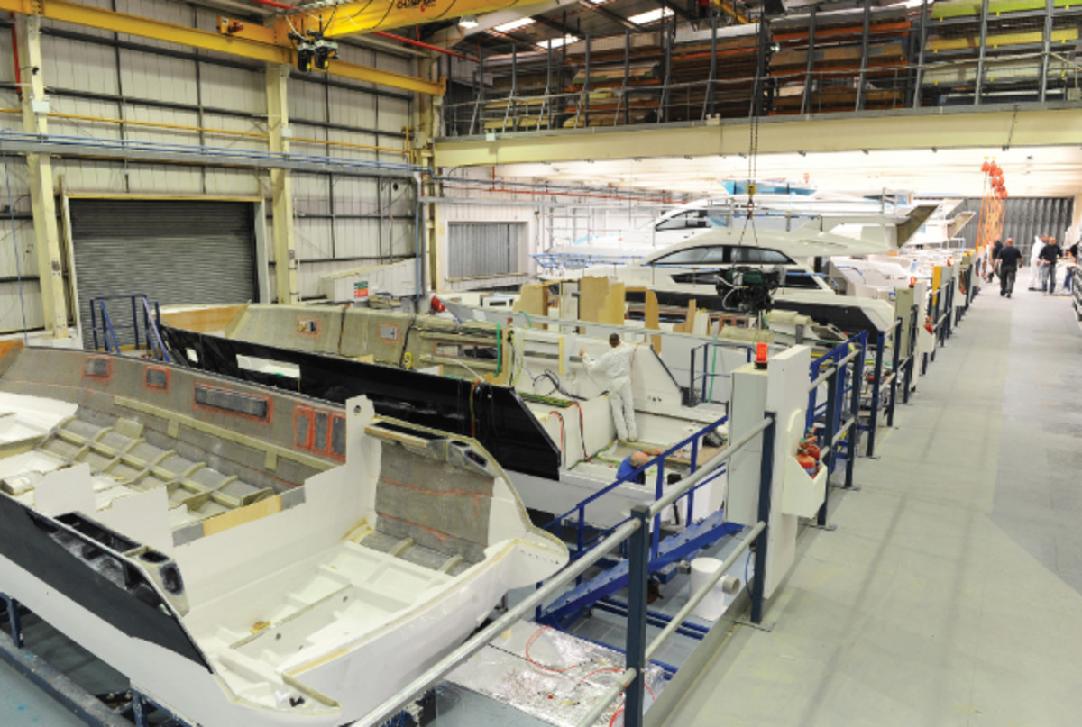 Fairline Yachts said its additional factory space will ensure that it continues to create new boats and improve existing products.