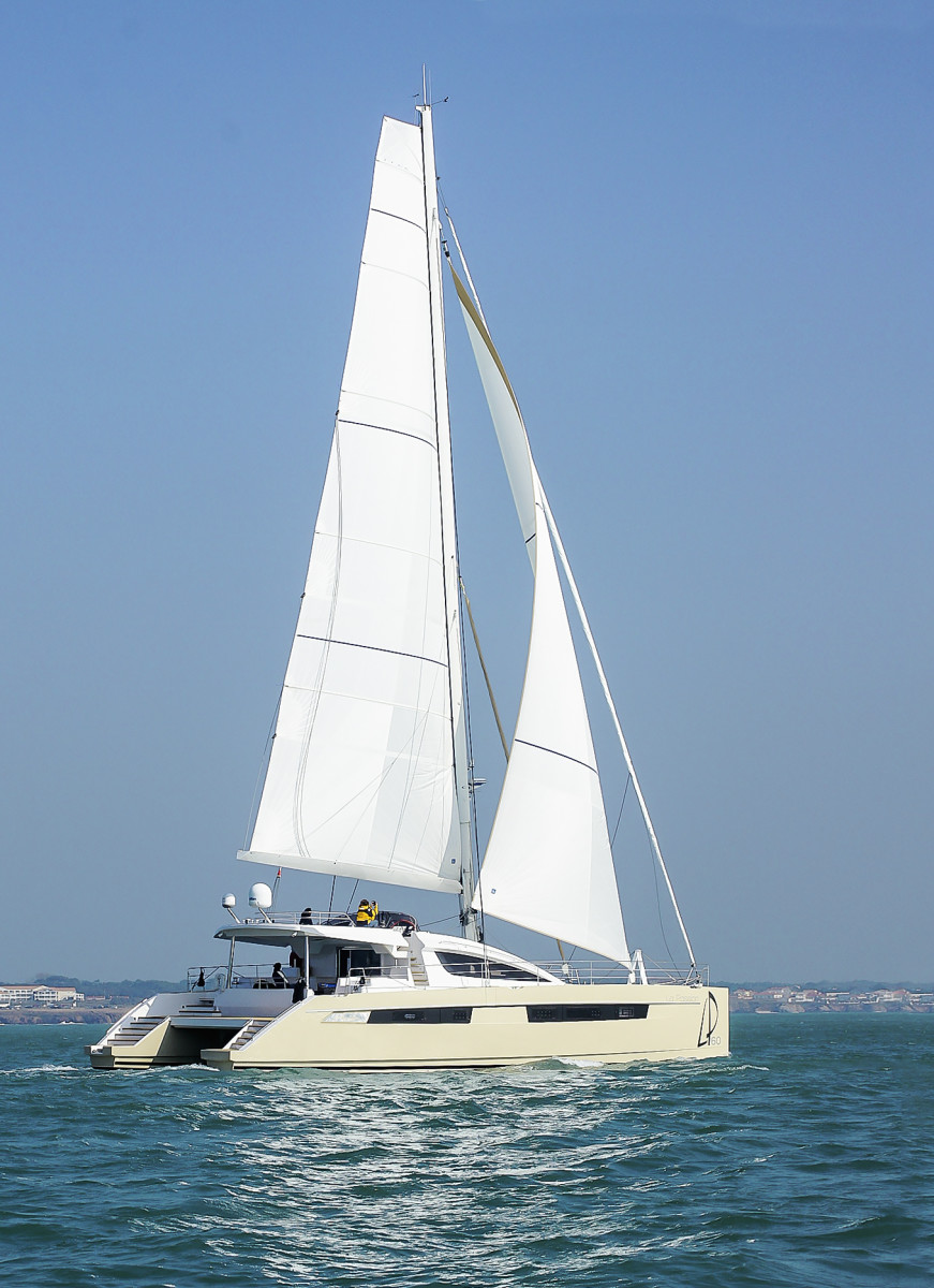 "Denison said La Passion is a customized performance sailboat with an ""innovative interior design."""