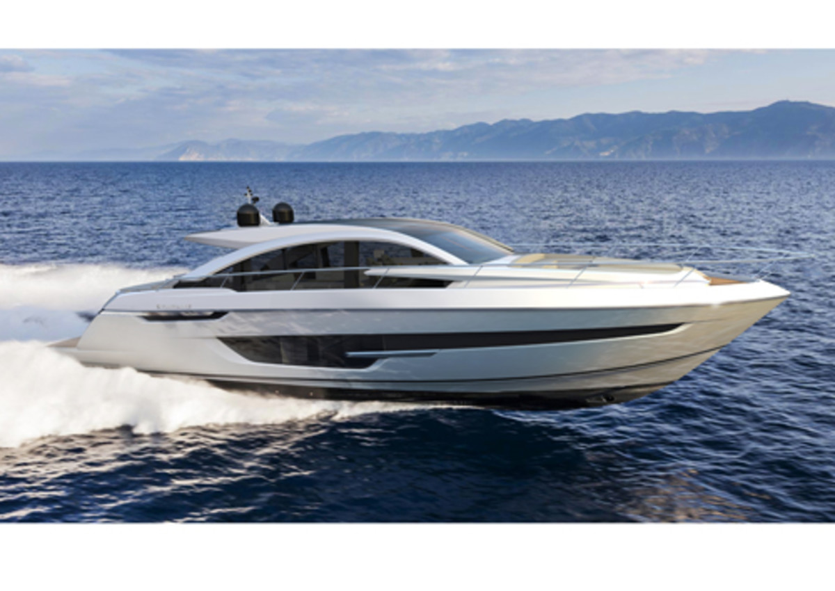 Fairline Yachts' Targa 63 GTO will be unveiled at the 2017 Cannes Yachting Festival.