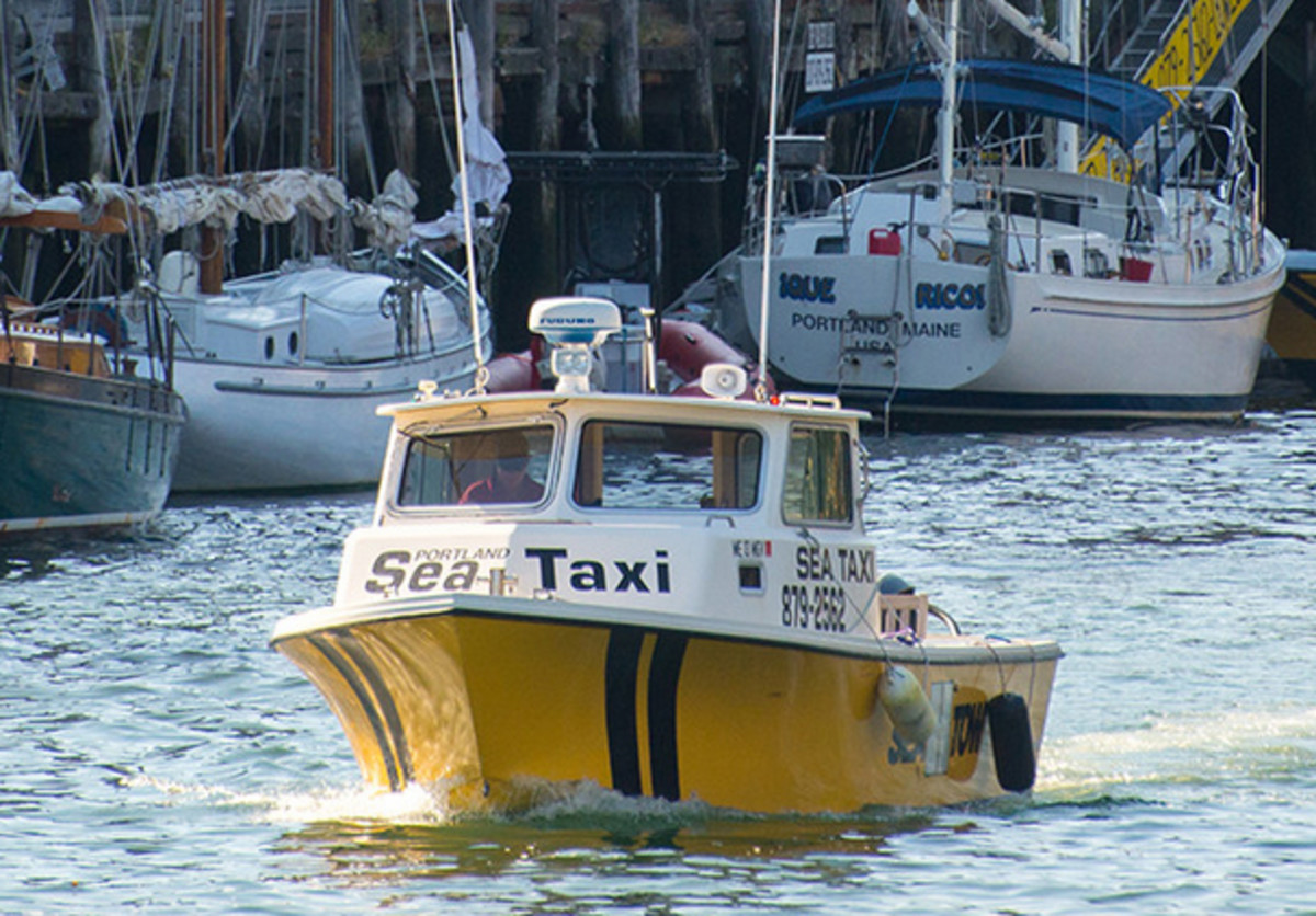 Portland Sea Taxi offers service to and from the islands of Casco Bay and Portland Harbor.