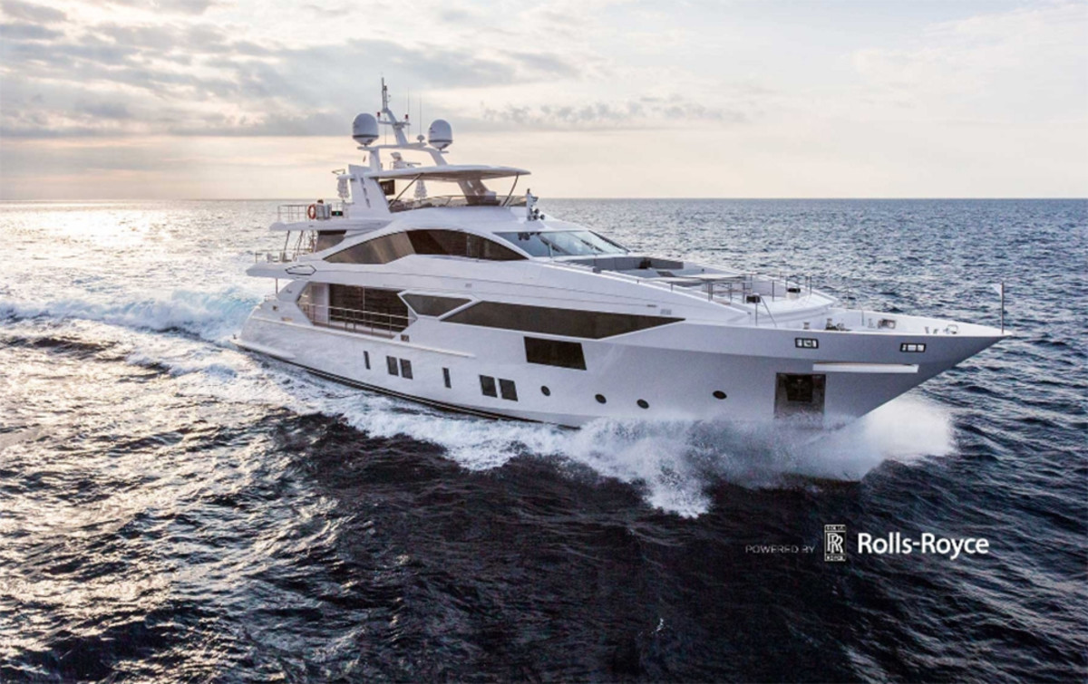 The Benetti yacht Ironman won the International Superyacht Society's design award in the 24- to 40-meter category.