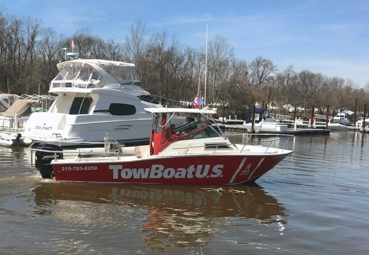 Capt. Grace Marsh is one of three new owners of TowBoatUS Philadelphia and TowBoatUS Neshaminy.