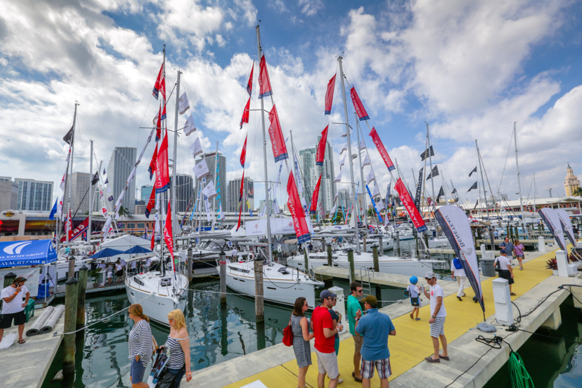 Progressive Strictly Sail Miami will bring nearly 100 sailboats next year to Miami Marine Stadium's deepwater basin.