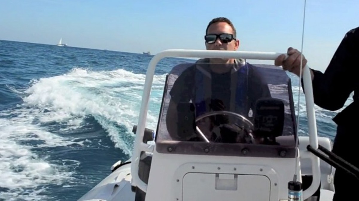 Bluewater Crew Training's recreational boating curriculum includes two days of training aboard a 24-foot boat.