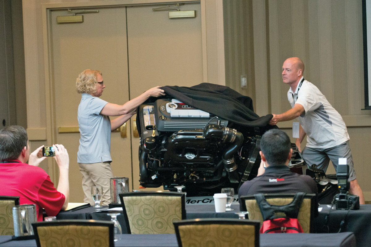 MerCruiser's 6.2L V-8 sterndrive had a grand unveiling at a recent media event in Charlotte, N.C.