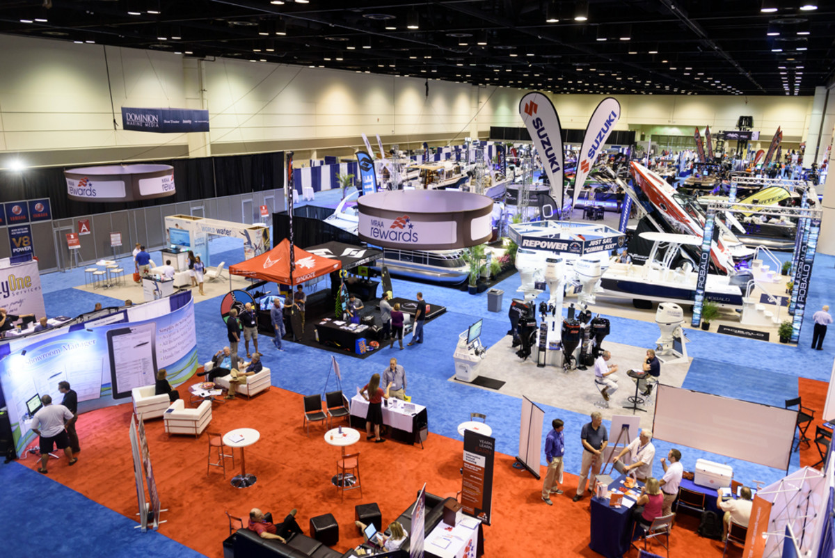 The exhibit hall is a key feature of MDCE, showcasing new opportunities to help dealers grow their businesses.